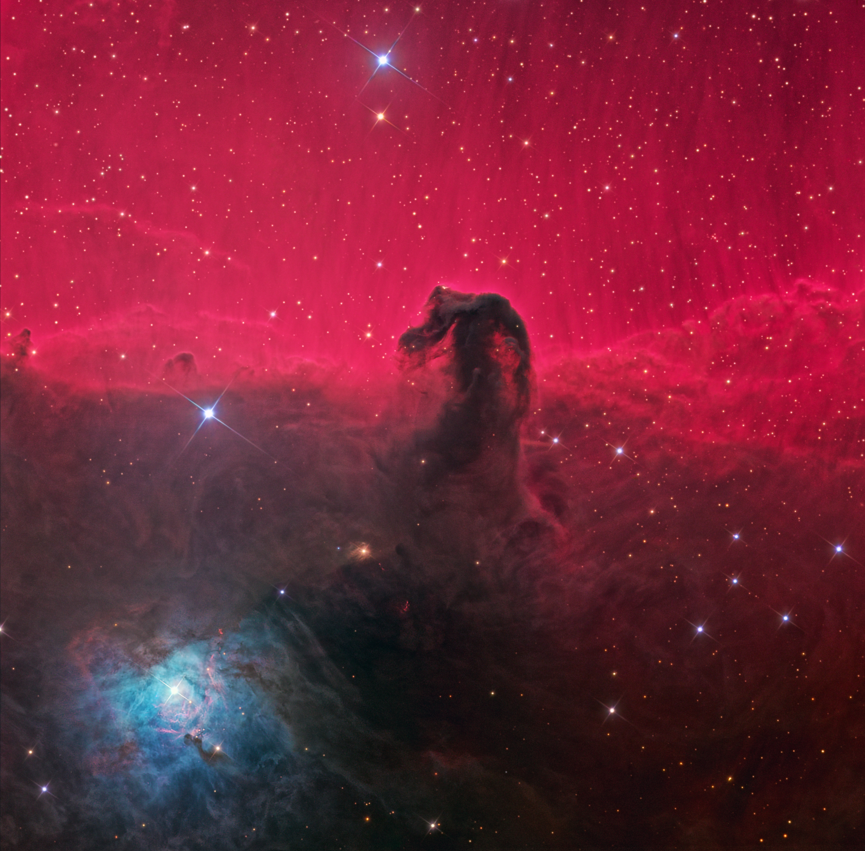 Horsehead Nebula B33   169  Ken Crawford Rancho Del Sol Observatory MPC    Horsehead Nebula